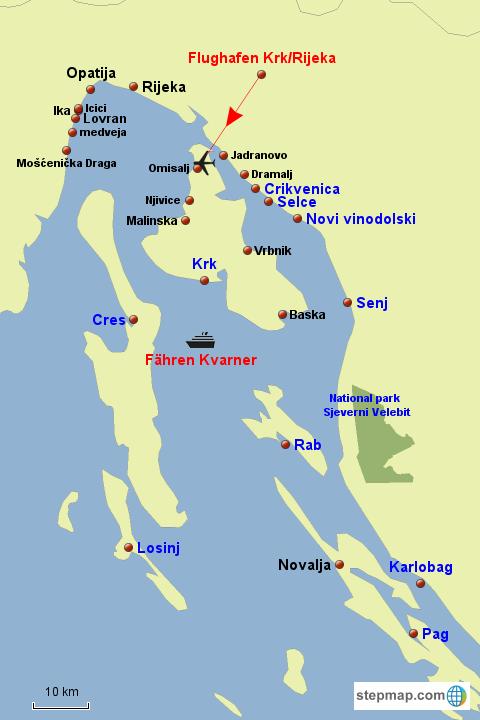 Kvarner Bucht