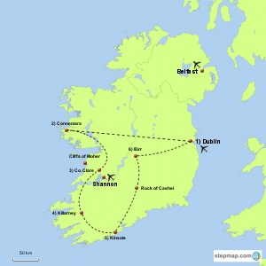 Deluxe Crafting Tour of Ireland