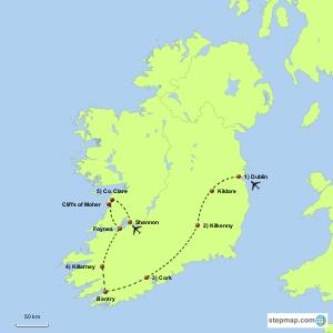 Gardens of Ireland Tour & World Flower Show
