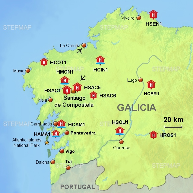 Long Stay Vacations In Spain: Charming Hotels Galicia
