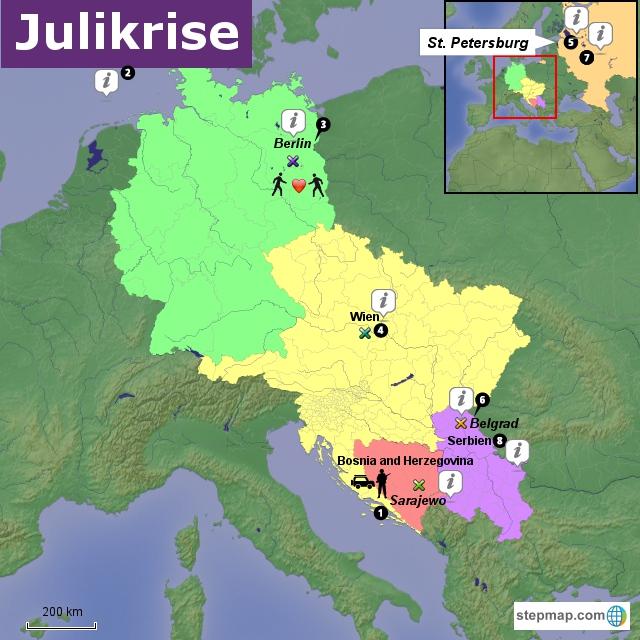 Gruppe 2 - Karte 1 - Julikrise