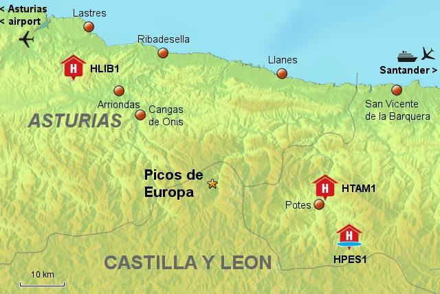 Hotels Picos de Europa