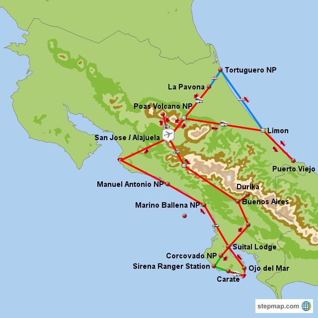 Unsere Rundreise durch Costa Rica 2011
