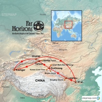 China's Silk Road with FH Logo