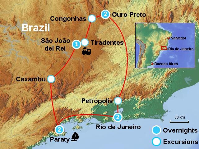 Rio & the Gold Route RDO