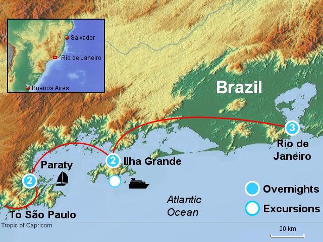 Rio, the Tropical Island & Paraty RGP