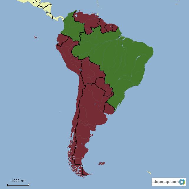 South America - January 2015