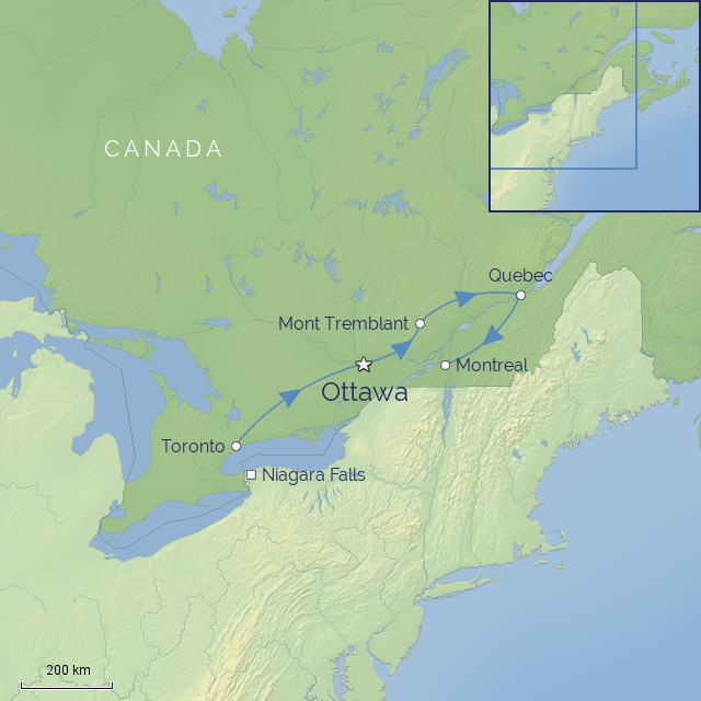 COUNTRY NORTH-AMERICA CANADA - Discover eastern canada