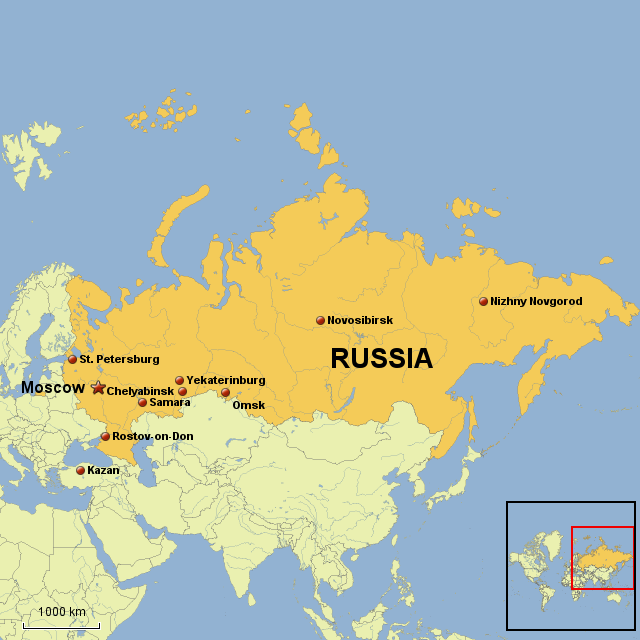 Explore Russia MommyMaleta - Moscow russia on world map