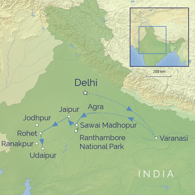 Tour - Indian-Subcontinent - India - Grand Tour of Northern India