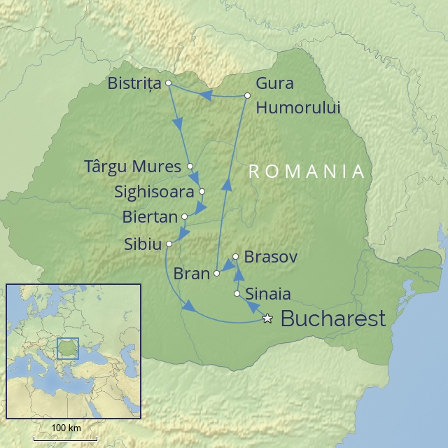 Tour - Europe - Romania - Timeless Romania