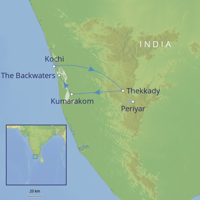 tour Indian-Subcontinent India - Spice Lands of Kerala