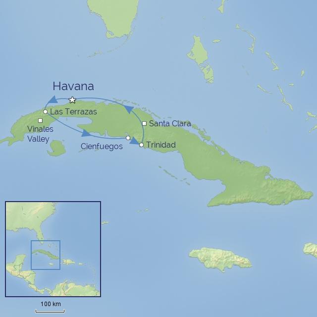 Tour - Central America - Cuba - Splendours of Cuba