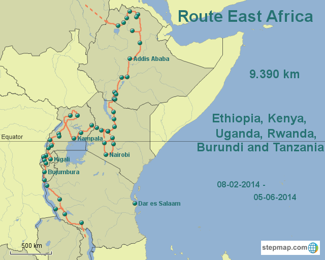 Route East Africa