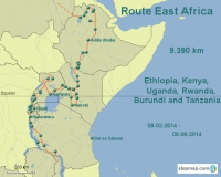 Amsterdam to Anywhere Route East Africa