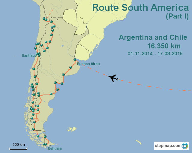 Route South America Part I