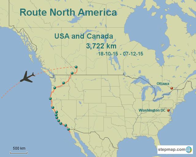 Route North America