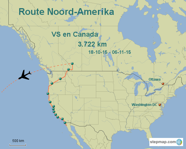 Route North America