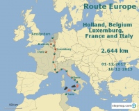 Amsterdam to Anywhere - Route Europe I