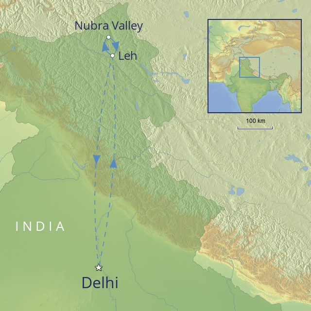 Tour - Indian-Subcontinent - India - land-of-the-lamas
