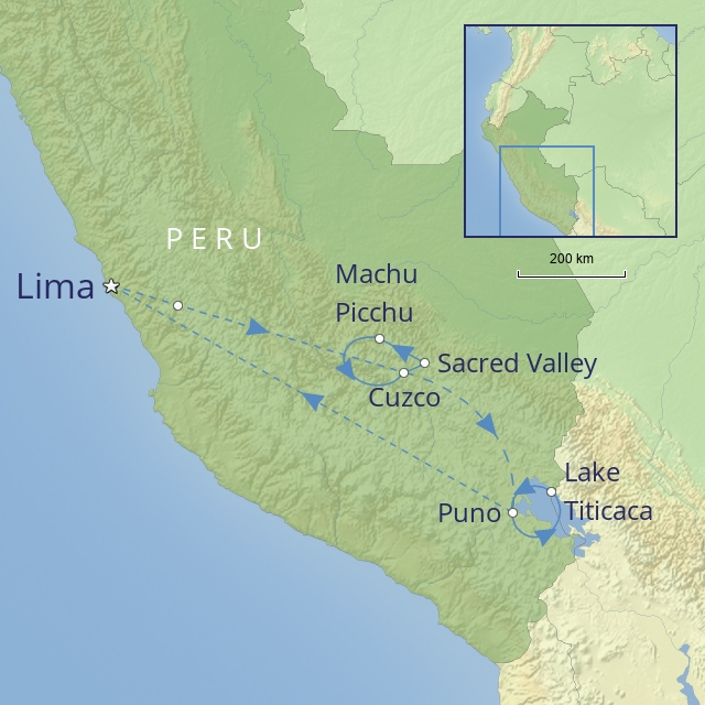 Tour - South America - Peru - peru in luxury