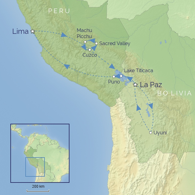Tour - South America - Peru & Bolivia - Heart of the Andes