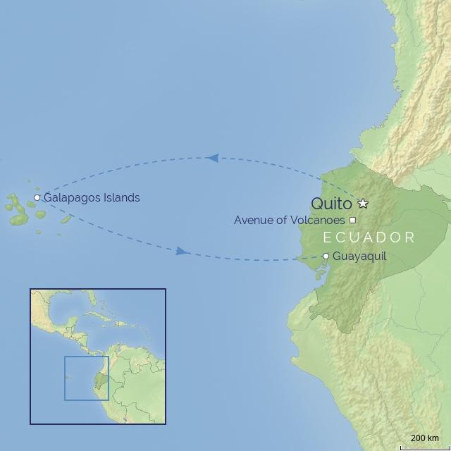 country - south america - ecuador & galapagos experience