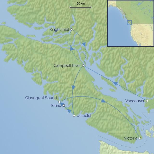 tour-Canada-British Columbia-Wildlife of Western Canada