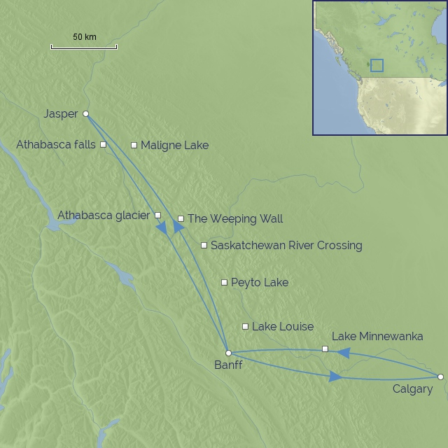 tour-Canada-Calgary Stampede & Rockies Drive