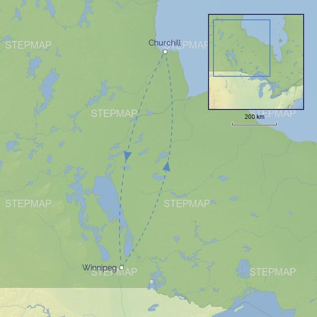 COUNTRY NORTH-AMERICA CANADA - Churchill Polar Bear Adventure