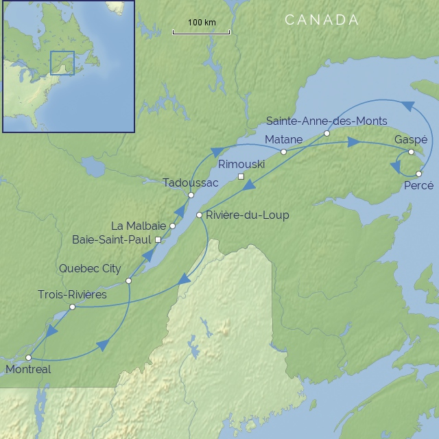 tour-Canada-Quebec & the Gaspe Peninsula