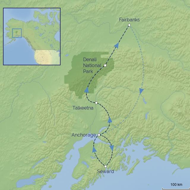 tour-Canada-Alaska Railroad Journey
