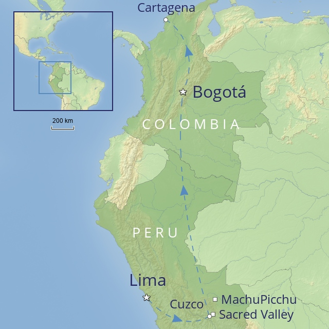 Tour - South America - Peru - Peru & Colombia