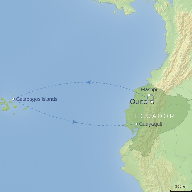 country - south america - ecuador & galapagos in style