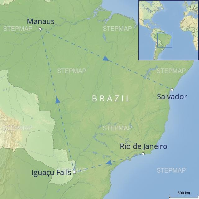 tour LATIN AMERICA - BRAZIL - brazil in style