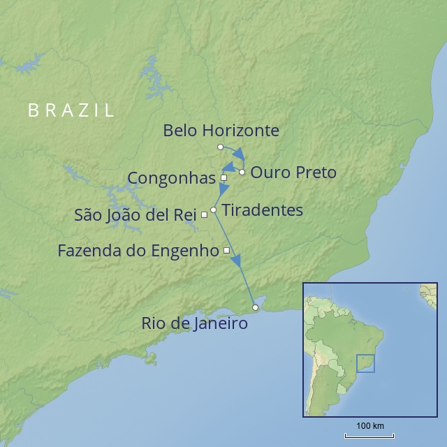 tour LATIN AMERICA - BRAZIL - Colonial Heartlands