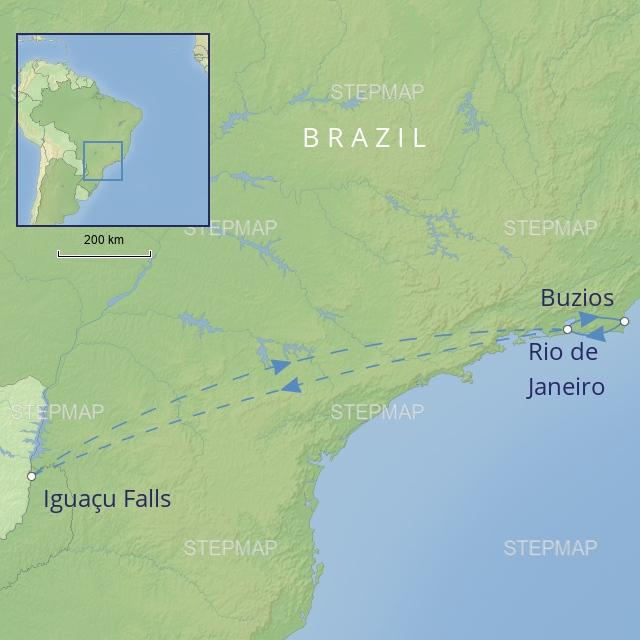 tour LATIN AMERICA BRAZIL - a taste of brazil