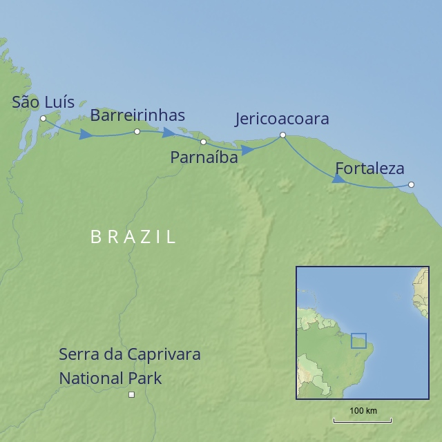 tour LATIN AMERICA - BRAZIL - north-east explorer
