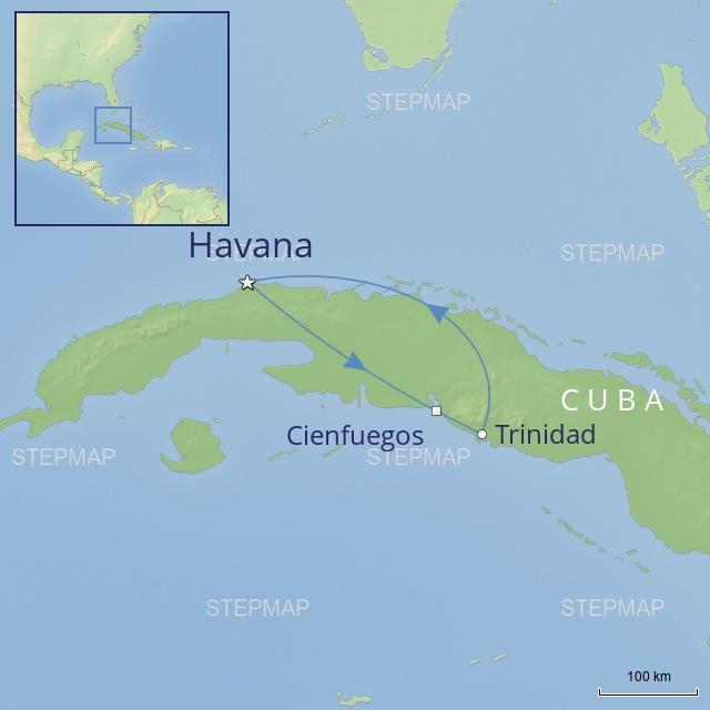 Tour - Central America - Cuba - Spirit of Cuba