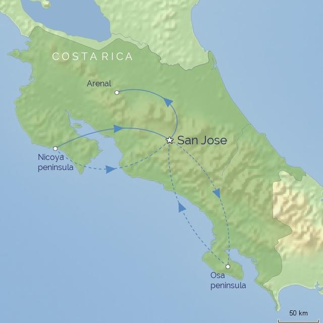 Osa Peninsula Costa Rica Hotels: Arenal, Monteverde, Guanacaste