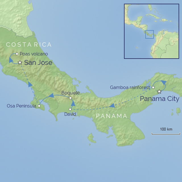 Tour - Central America - Costa Rica & Panama - Natural Wonders of Panama and Costa Rica