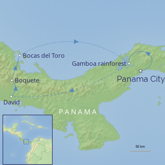 Tour - Central America - Panama - Panama Highlights