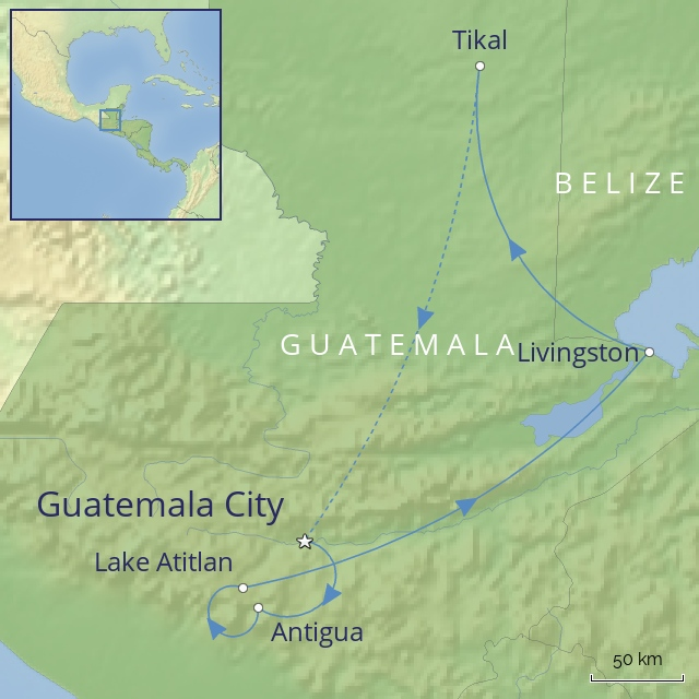 Tour - Central America - Colours of Guatemala