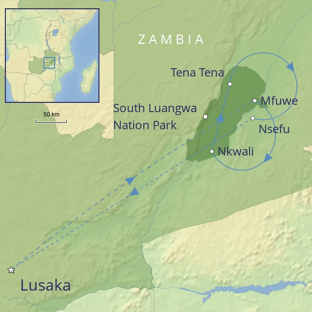 COUNTRY - AFRICA - ZAMBIA - ZAMBIA - THE SOUTH LUANGWA VALLEY