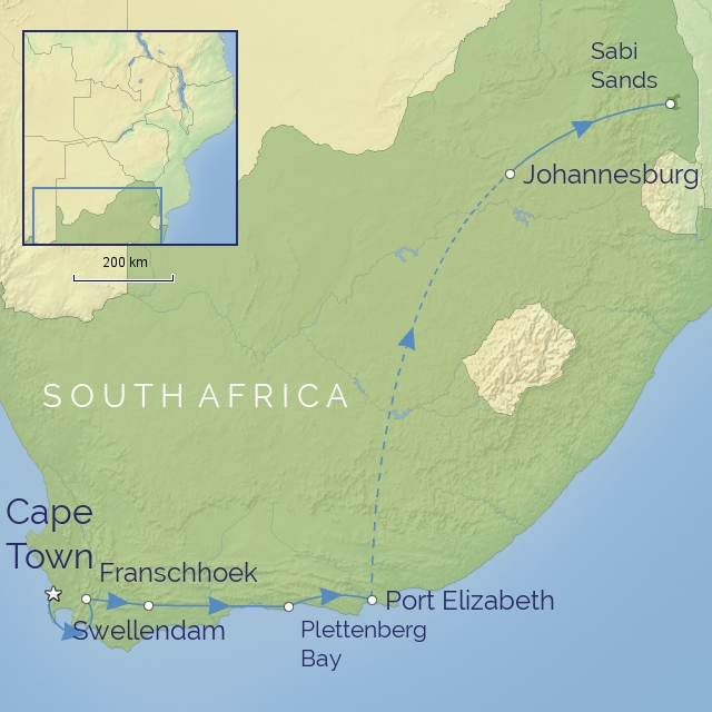 TOUR - AFRICA - SOUTH AFRICA - SOUTH AFRICA IN LUXURY