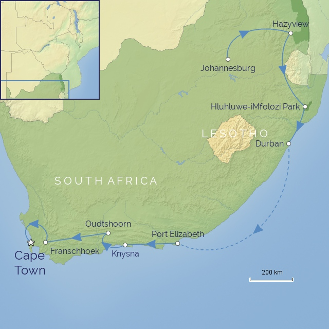 TOUR - AFRICA - SOUTH AFRICA - CLASSIC SOUTH AFRICA
