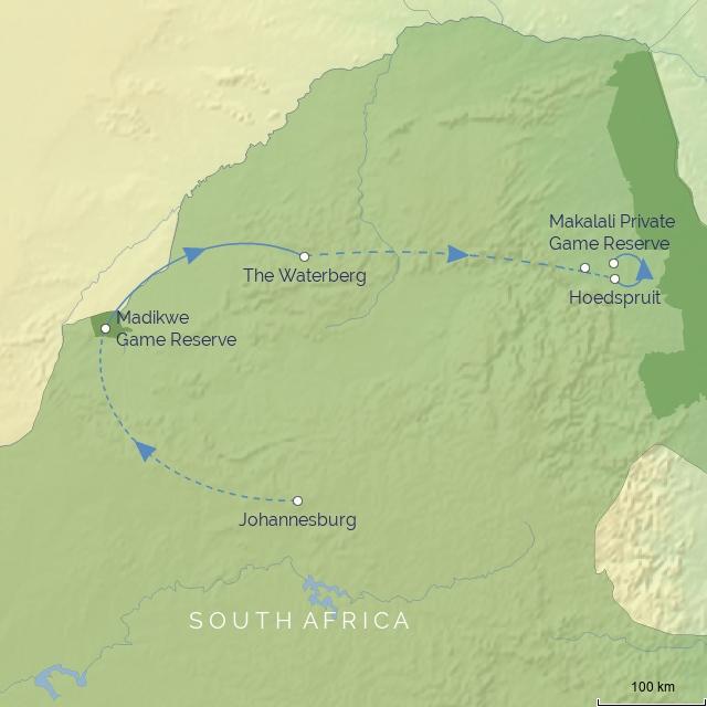 TOUR - AFRICA - SOUTH AFRICA - SOUTH AFRICAN SAFARI