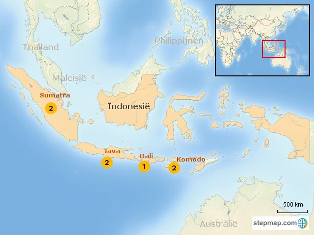 IndonesieKids Regiokaart bouwstenen