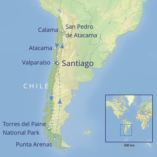 Tour - South America - Chile - essence of chile