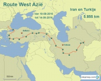 Route West Azie
